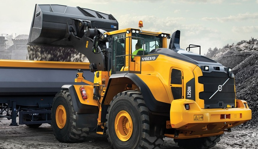 Introducing The New Volvo L250h Wheel Loader Intro Into Blog