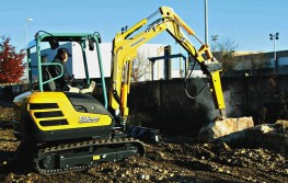 Introduction to SV26 Yanmar Excavator