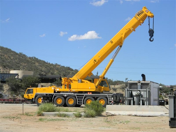 Mobile Crane Hoist : Introduction to mobile cranes intro into