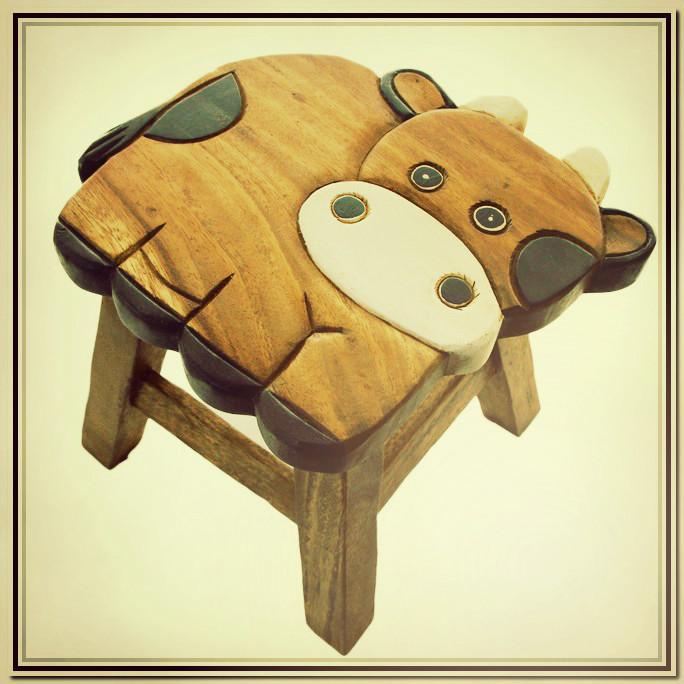 Wooden Designer Stool
