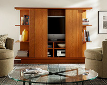 tv cabinet with doors