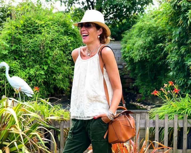 casual style for older woman