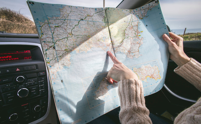 travelling-with-map