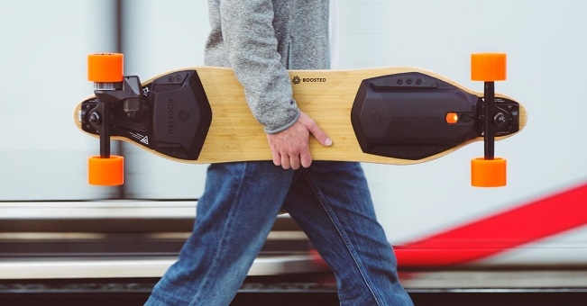 guy with eboard in his hands