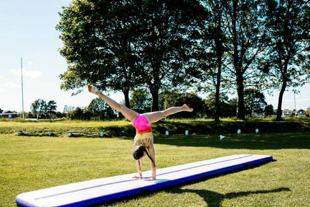 airtrack gym outdoor