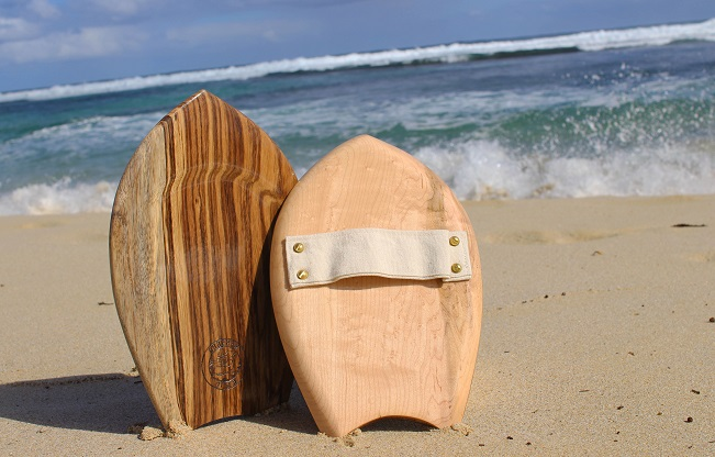 handboard on beach