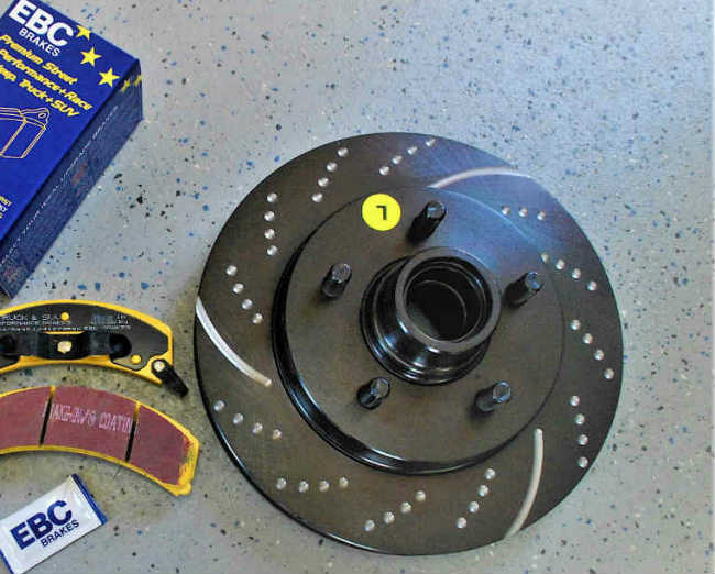 ebc brake pads and rotors