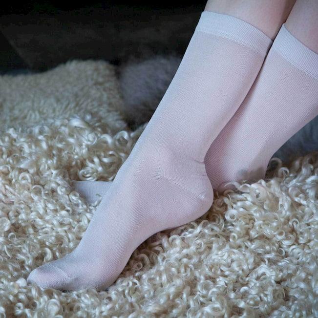 silk socks