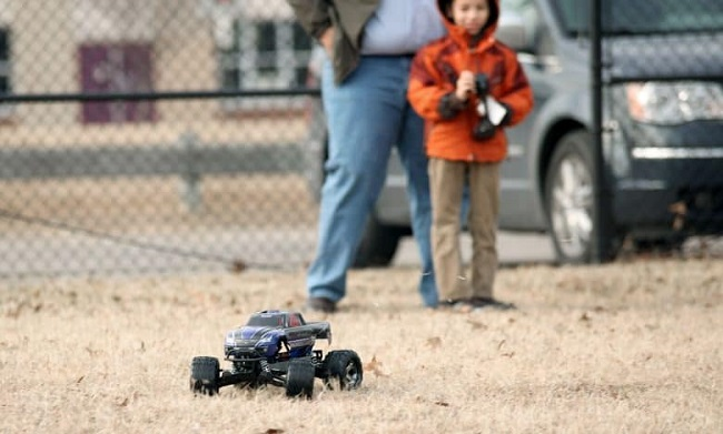 RC Drive by kids