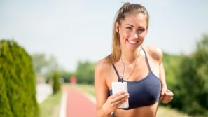 workout girl smile outdoor summer