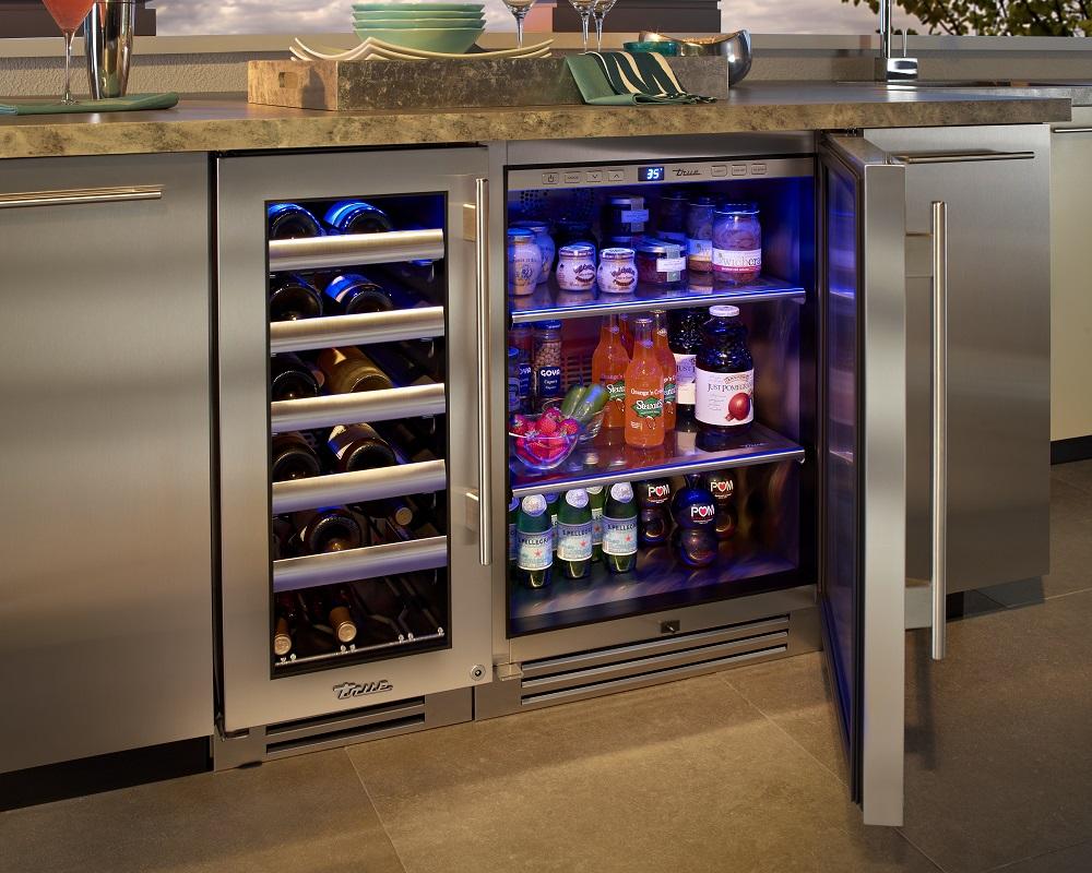 outdoor kitchen refrigeration