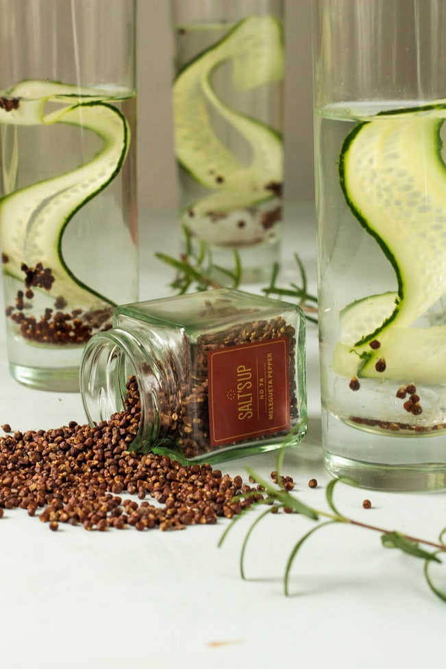 botonic products to put in gin