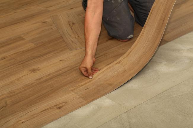 lay loose vinyl floor