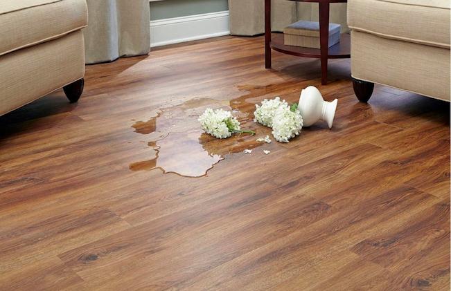 waterproof vinyl floor