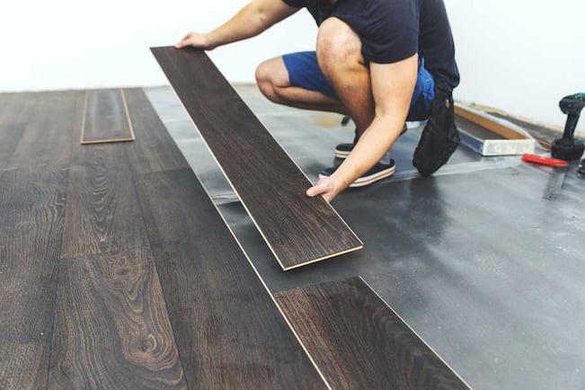 installing new vinyl floor