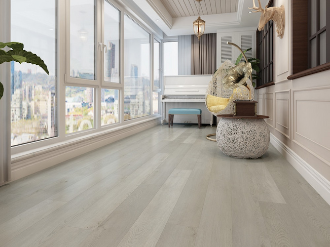 different style of vinyl flooring