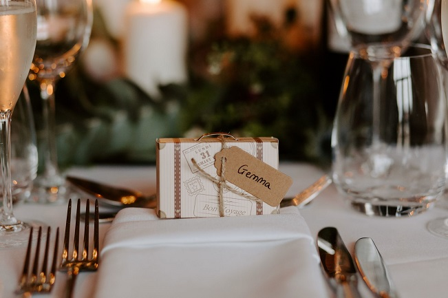 Personalized wedding favour