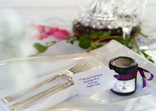 Wedding favour jar