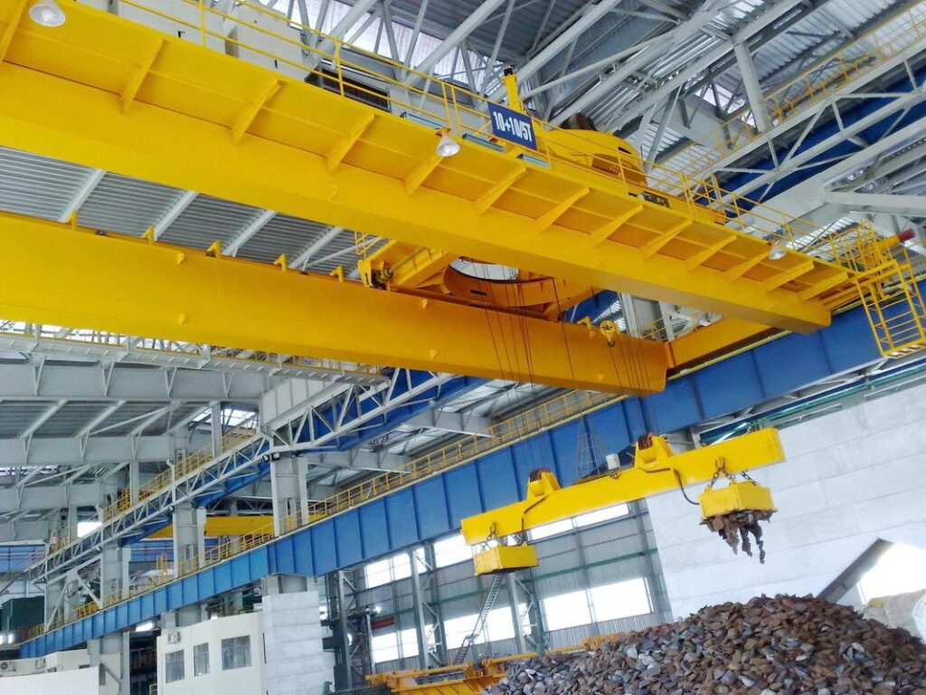 gantry crane lifting mechanism