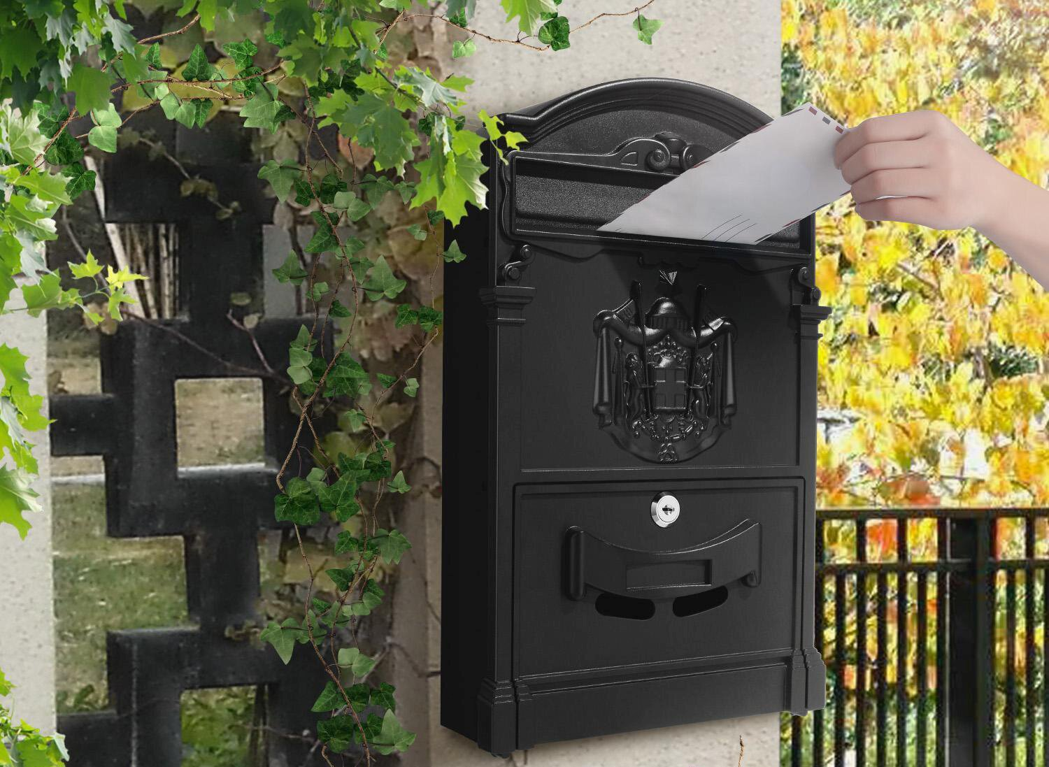 wall-mounted letterbox