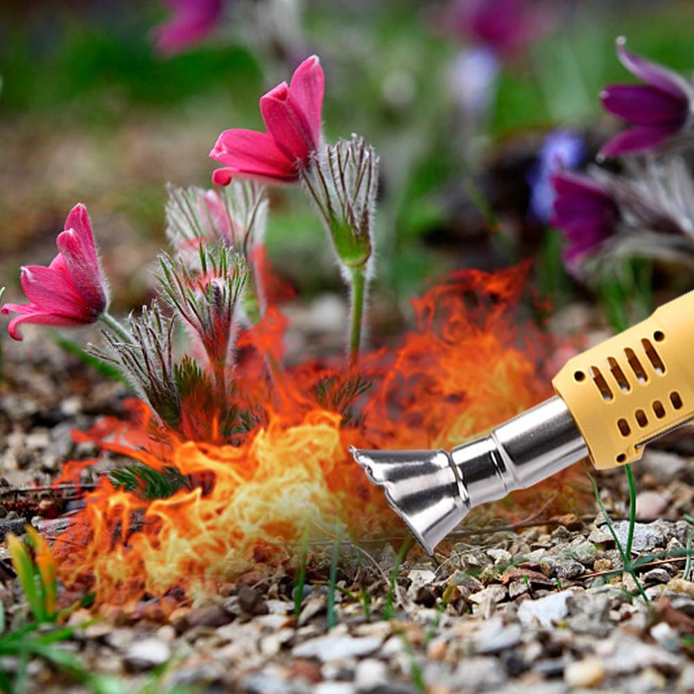 weed torch yardwork