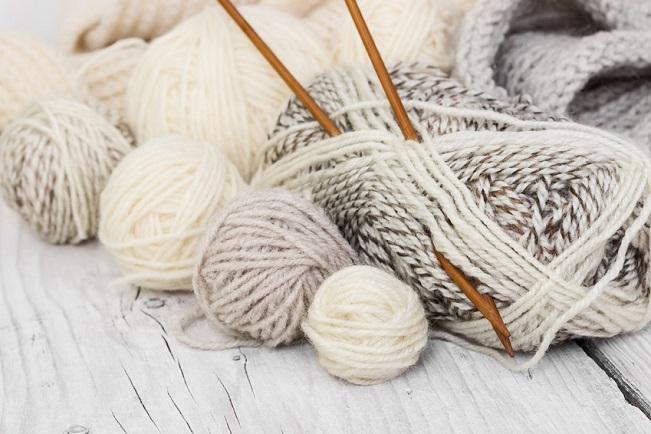 yarn knitting needles