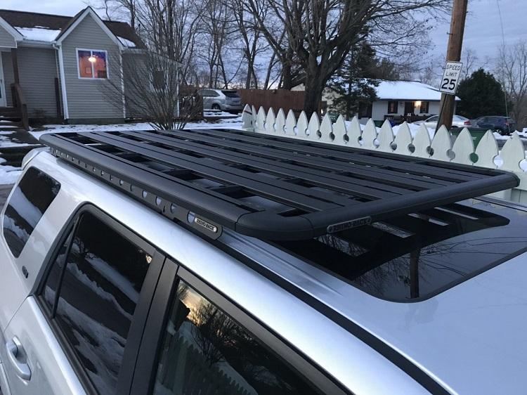 roof platform on car
